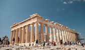Parthenon of Athens, Acropolis Hill — Stock Photo
