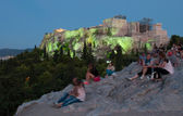 Acropolis, Parthenon Athens — Stock Photo