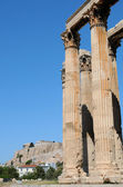 Temple of Olympian Zeus , Athens — Stock Photo