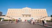 Syntagma Square, Athens, Greece — Stock Photo