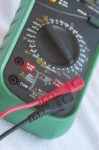 Elektronische digital-multimeter — Stockfoto