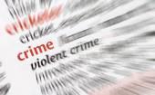Crime and violence — Stock Photo