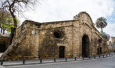 Famagusta Gate historical building landmark, Nicosia Cyprus. — Stock Photo