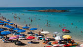 Fig Tree bay Protaras ,  Cyprus — Stock Photo