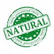 Green Stamp - natural — Stock Photo #64306891