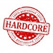 Red stamp - hard core — Stock Photo #64537135