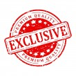 Red stamp - exclusive, premium quality — Stock Photo #65418395