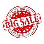 Damaged Seal - big sale — Stock Photo