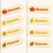秋の販売 — ストックベクタ