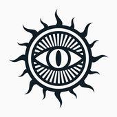 Occult symbol — Stock Vector