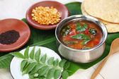 Tomato rasam, south indian soup — Stock Photo