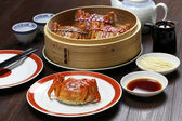 Shanghai hairy crabs, chinese cuisine — Stock Photo