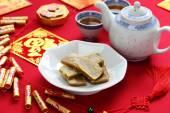 Nian gao, chinese new year rice cake — Stock Photo