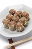Shu mai, shao mai, chinese dim sum dish — Stock Photo
