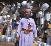Merchant in Yemen — Stock Photo