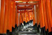 φουσίμι inari ταΐσα τέμενος στο κιότο, ιαπωνία — Φωτογραφία Αρχείου
