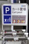 Cart pool — Stok fotoğraf