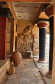 Knossos Palace Heraklion Crete Greece - Archaeological site — Stock Photo