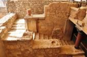 Knossos Palace Heraklion Crete Greece - Archaeological site — Stock Photo