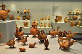Objetos de cerâmicos do museu arqueológico de herakleion — Foto Stock