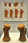 取り戻せ考古学博物館からセラミック オブジェクト — ストック写真