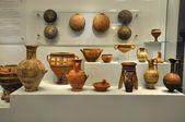 Objetos de cerâmicos do museu arqueológico de herakleion — Fotografia Stock