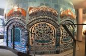 Ceramic museum Dusseldorf cupola from Multan — Foto Stock