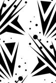 Abstract Seamless Arrows Over White — Stock Vector