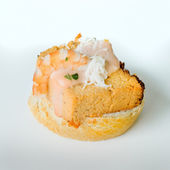 Fish pie pincho. — Stock Photo