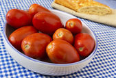 San Marzano tomatoes. — Stock Photo