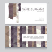 Business card template — Stock vektor
