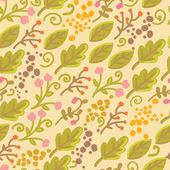 Floral naadloze textuur — Stockvector