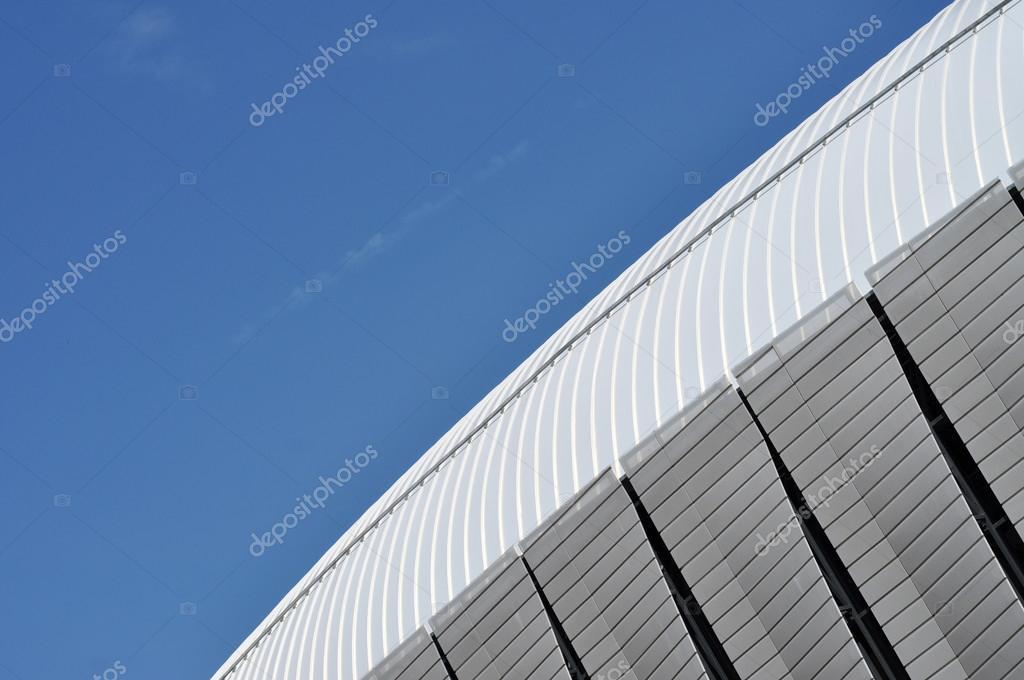 Modern Architecture Pattern modern architecture pattern of a stadium — stock photo © salajean