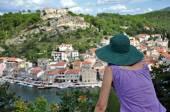 View of Novigrad fishing town, Croatia — Stock Photo