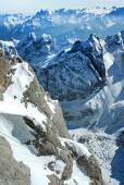 Ski resort in the Dolomites — Foto de Stock