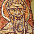 Saint Peter apostle made from mosaic on a column — Stock Photo #64239947