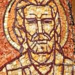 Mosaic of Saint Mark apostle on a column  — Stock Photo #64239999