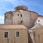 Saint Donatus Romanesque style church. Zadar, Croatia — Stock Photo #67568725