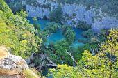 Waterfalls in Plitvice National Park, Croatia — Stock Photo