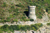 Genoese tower in Corsica. L'Osse defense tower — Stock Photo