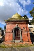 Votive temple and shrine in Pashupatinath, Nepal — Stock Photo