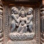 ������, ������: Erotic carvings on Hindu temples in Kathmandu Nepal