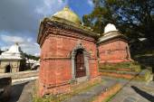 Ancient Hindu temple in Pashupatinath before the earthquake that — ストック写真