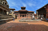Architettura di patrimonio Unesco di Bhaktapur, Kathmandu, Nepal — Foto Stock