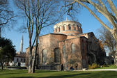 Church of Irina inside the Topkapi Palace, Istanbul, Turkey — Stock Photo
