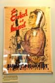 Cartel de propaganda de la | Frente patriótico Budapest, apoyo V — Foto de Stock