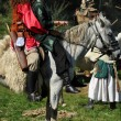 ������, ������: Equestrian demonstration in traditional costumes