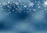 Weihnachten schnee hintergrund — Stockvektor
