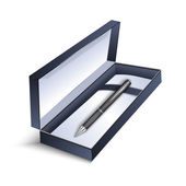 Pen with gift box — Wektor stockowy