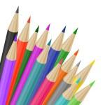 Colorful pencils — Stock Vector #65969229